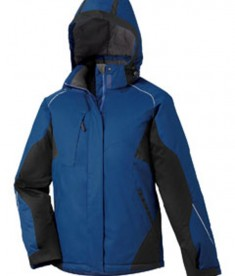 Ash City - North End Avalanche Ladies' Color-Block Insulated Jacket Ocean Blue