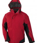 Ash City - North End Avalanche Men's Color-Block Insulated Jacket Molten Red