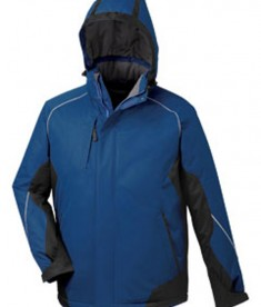 Ash City - North End Avalanche Men's Color-Block Insulated Jacket Ocean Blue