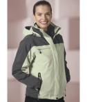 Ash City - North End Ladies' 3-In-1 Mid-Length Jacket Life Style