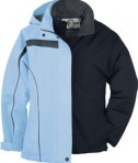 Ash City - North End LADIES' 3-IN-1 JACKET WITH DETACHABLE JACKET LINER Frosted Sky Full View