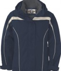 Ash City - North End LADIES' 3-IN-1 JACKET WITH DETACHABLE JACKET LINER Midnight Navy Full View