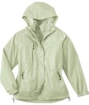 Ash City - North End LADIES' 3-IN-1 TECHNO PERFORMANCETM SEAM-SEALED HOODED JACKET Celery Full View
