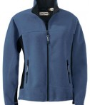 Ash City - North End LADIES' FLEECE BONDED TO BRUSHED MESH FULL-ZIP JACKET Glacier Blue
