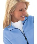 Ash City - North End LADIES' FLEECE BONDED TO BRUSHED MESH FULL-ZIP JACKET Life Style