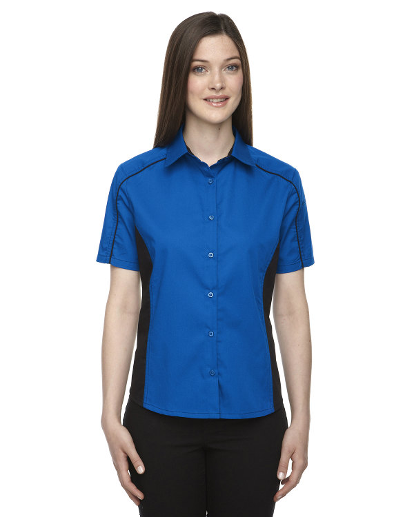 ash-city-north-end-ladies-fuse-colorblock-twill-shirt-true-royal