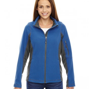 ash-city-north-end-ladies-generate-textured-fleece-jacket-nautical-blue