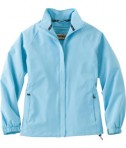 Ash City - North End LADIES' HIP LENGTH PERFORMANCE STRETCH JACKET Blue Drop