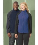 Ash City - North End LADIES' HIP LENGTH PERFORMANCE STRETCH JACKET LifeStyle