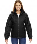 Ash City - North End Ladies' Insulated Jacket Black
