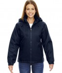 Ash City - North End Ladies' Insulated Jacket Midnight Navy