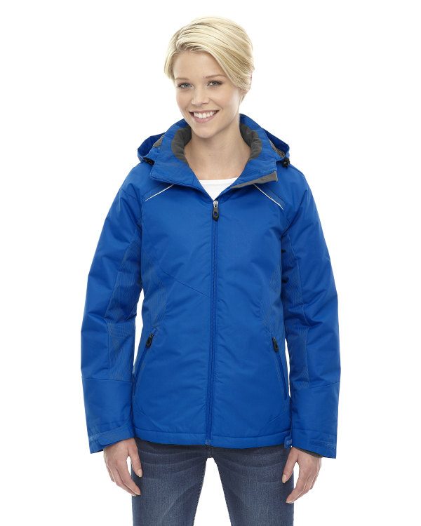 ash-city-north-end-ladies-linear-insulated-jacket-with-print-nautical-blue