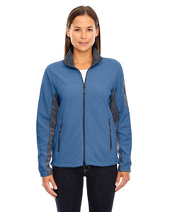 Ash City - North End Ladies' Microfleece Jacket Lake Blue