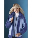 Ash City - North End Ladies' Performance 3-In-1 Seam-Sealed Mid-Length Jacket Life Style