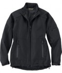 Ash City - North End LADIES' PERFORMANCE MID-LENGTH SOFT SHELL JACKET Black