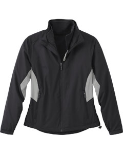 Ash City - North End LADIES' RECYCLED POLYESTER 7-IN-1 WIND JACKET WITH REVERSIBLE LINER Black