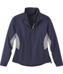Ash City - North End LADIES' RECYCLED POLYESTER 7-IN-1 WIND JACKET WITH REVERSIBLE LINER Classic Navy