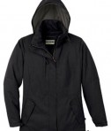 Ash City - North End LADIES' RECYCLED POLYESTER INSULATED TEXTURED JACKET Black