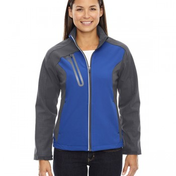 ash-city-north-end-ladies-terrain-colorblock-soft-shell-with-embossed-print-nautical-blue