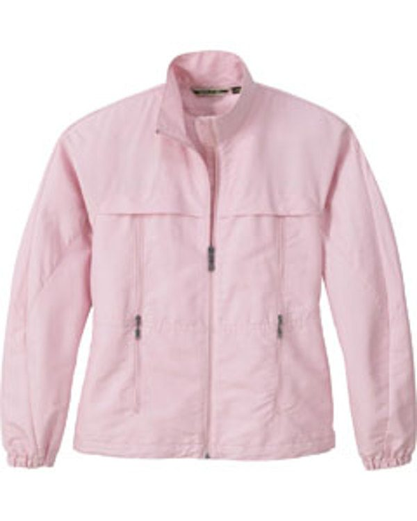 Ash City - North End LADIES' TEXTURED LIGHTWEIGHT JACKET Powder Pink