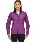 Ash City - North End Ladies' Three-Layer Fleece Bonded Performance Soft Shell Jacket Plum Rose