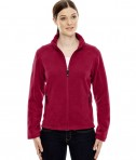 Ash City - North End Ladies' Voyage Fleece Jacket Classic Red
