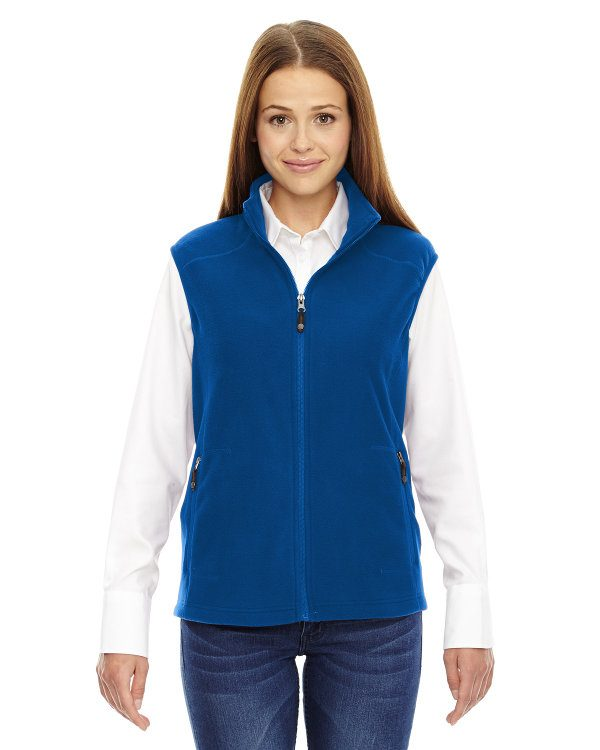 Ash City - North End Ladies' Voyage Fleece Vest True Royal
