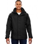 Ash City - North End Men's 3-in-1 Jacket Black Front