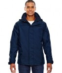 Ash City - North End Men's 3-in-1 Jacket Navy Front