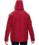 Ash City - North End Men's 3-in-1 Jacket Molten Red Back