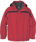 Ash City - North End MEN'S 3-IN-1 JACKET WITH DETACHABLE JACKET LINER Molten Red