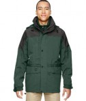 Ash City North End Men's 3-in-1 Two Tone Parka Jacket Alpine Green