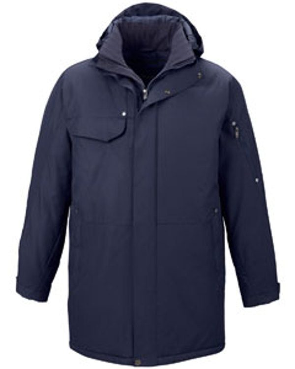 Ash City - North End Men's Algor Insulated Jacket Classic Navy