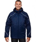 Ash City - North End Men's Angle 3-in-1 Jacket with Bonded Fleece Liner Night Front