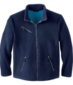 Ash City - North End MEN'S BONDED JACQUARD FLEECE JACKET Night