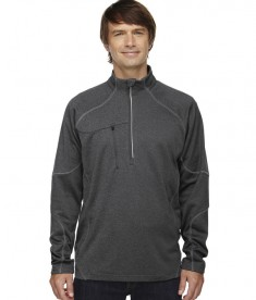 Ash City - North End Men's Catalyst Performance Fleece Half-Zip Carbon Heather