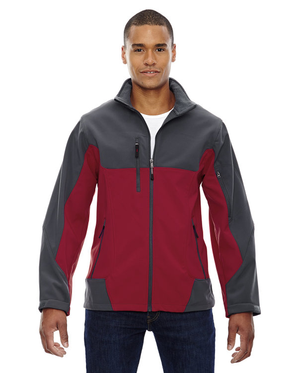 Ash City - North End Men's Compass Colorblock Three-Layer Fleece ...