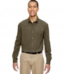 Ash City - North End Men's Excursion Concourse Performance Shirt DK Oakmoss