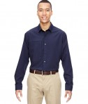 Ash City - North End Men's Excursion Concourse Performance Shirt Navy