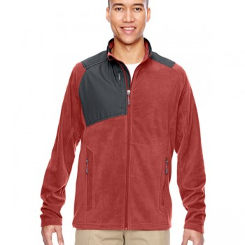 ash-city-north-end-mens-excursion-trail-fabric-block-fleece-jacket-rust