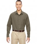 Ash City - North End Men's Excursion Utility Two-Tone Performance Shirt DK Oakmoss
