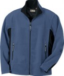 Ash City - North End MEN'S FLEECE BONDED TO BRUSHED MESH FULL-ZIP JACKET Glacier Blue