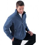 Ash City - North End MEN'S FLEECE BONDED TO BRUSHED MESH FULL-ZIP JACKET LifeStyle