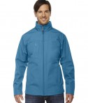 Ash City - North End Men's Forecast Three-Layer Light Bonded Travel Soft Shell Jacket Blue Ash