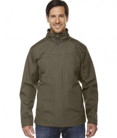 Ash City - North End Men's Forecast Three-Layer Light Bonded Travel Soft Shell Jacket Dark Oakmoss