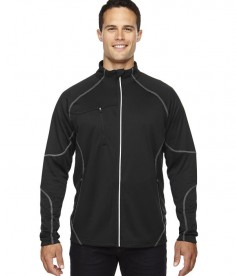 Ash City - North End Men's Gravity Performance Fleece Jacket Black