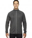 Ash City - North End Men's Gravity Performance Fleece Jacket Heather Carbon