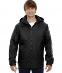 Ash City - North End Men's Insulated Jacket Black