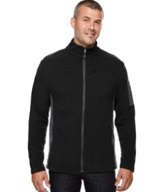 Ash City - North End Men's Microfleece Jacket Black
