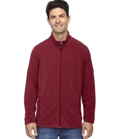 Ash City - North End Men's Microfleece Unlined Jacket Crimson